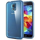 Spigen Ultra Hybrid Bumper Case for Samsung Galaxy S5 - Electric Blue