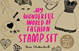 Nina Chakrabarti My Wonderful World of Fashion Stamp Set