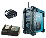MAKITA BMR101 Job site DAB Digital Radio Plus BL1830 18.0V 3.0Ah Lithium-ion Battery Plus DC18RC 14.4-18V Lithium-ion Battery Charger 240V