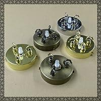 Triple or Quad Hooks, 3 or 4 Hooks Ceiling Rose Cap For Chandelier Lamp Shade Ceiling Light