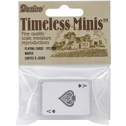 Miniature - Playing Cards - 1 inch