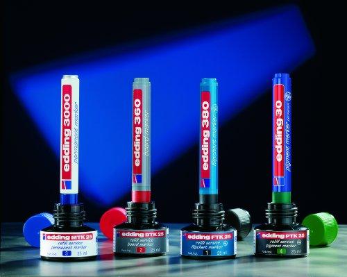 Edding e-PTK 25 Encre de recharge Bleu pour Marqueur