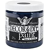 Tattered Angels Decor and DIY Paint Cup, 8 oz, Ebony