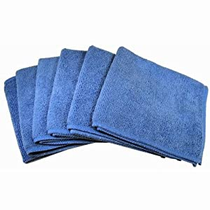 Cables Unlimted ACC-FIBER6 Ultra Absorbent Microfiber Cleaning Cloths -6 Pack