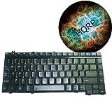 HQRP Laptop Keyboard for Toshiba Sa