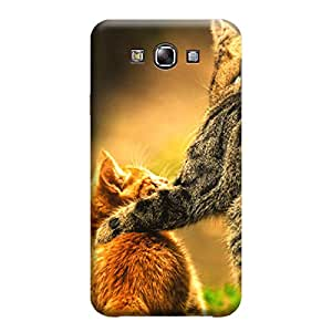 iShell Premium Printed Mobile Back Case Cover With Full protection For Samsung E7 (Designer Case)