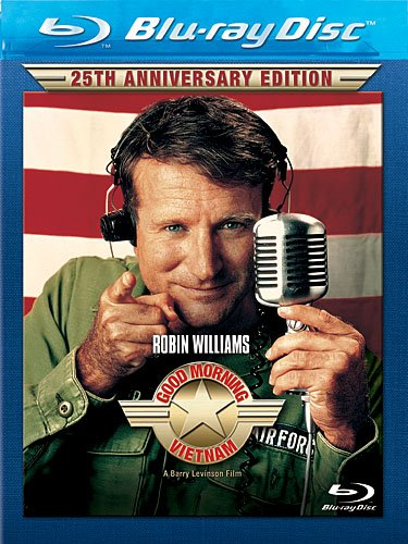 Cover art for  Good Morning, Vietnam (25th Anniversary Edition) [Blu-ray]
