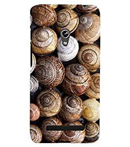 printtech Snail Shell Pattern Back Case Cover for Asus Zenfone 5 / Asus Zenfone 5 A500CG