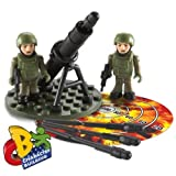 Character Building H.M. Armed Forces Artillery Set: Army Infantry Mortar Team