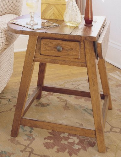 Image of Broyhill Attic Original Oak Occasional Tables Splay Leg End Table - 3397-05 (B0053ZJDCI)