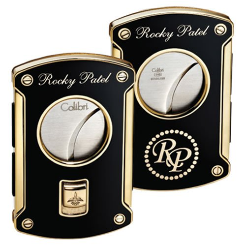 Rocky Patel Cigar Cutter - Limited Edition - Black and gold - 64 ring (Rocky Patel Edge compare prices)