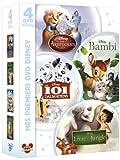 Mes premiers DVD Disney - Les Aristochats + Bambi + Les 101 dalmatiens + Le livre de la jungle