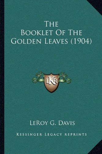 The Booklet of the Golden Leaves (1904)