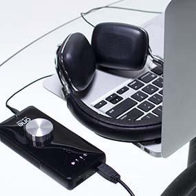 Apogee ONE with Apple MacBook Pro & Headphones
