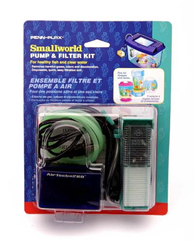 Small World® Aquarium Filter & Pump Kit for Small Tanks