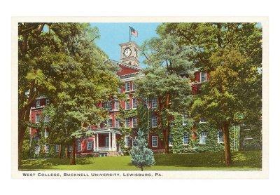 West College, Bucknell, Lewisburg, Pennsylvania
