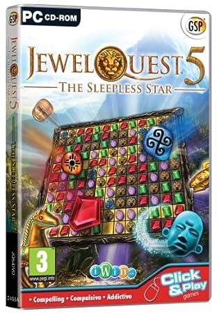 Jewel Quest 5: The Sleepless Star (PC CD)