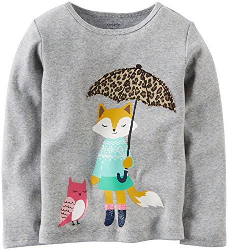 Carter's Baby Girls' Graphic Tee (Baby) - Racoon - 18M