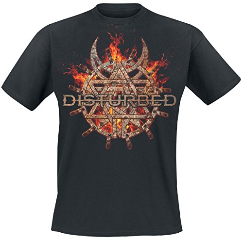 Disturbed Purgatory T-Shirt nero XXL