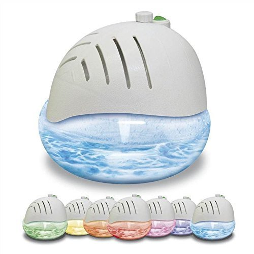 AIR PURIFIER WITH IONISER AND COLOUR CHANGING LED LIGHT + 3 FREE FRAGRANCES. by Maxim
