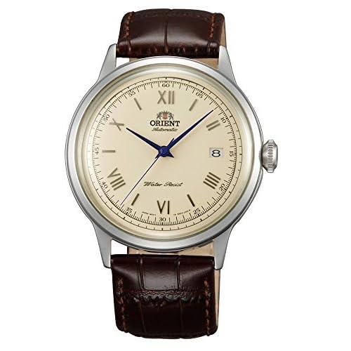 [オリエント]ORIENT 腕時計 自動巻 クラシックオートマチック ローマ 海外モデル 国内メーカー保証付き Bambino(バンビーノ) クリームイエロー SER2400CN0