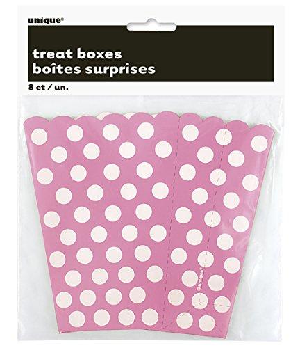 regal-des-boites-5-1-2-x-3-3-4-8-pkg-hot-pink-dots-decoratifs