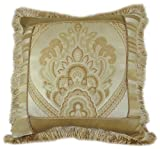 Austin Horn Classics Tuscany 18-inch Pieced with Flange Square Pillow