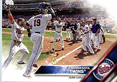 2016 Topps #181 Minnesota Twins Baseball Card
