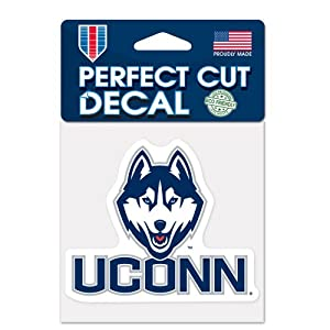 Buy Connecticut Huskies Official NCAA 4x4 Die Cut Car Decal by WinCraft