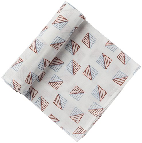 Pehr Designs Triangle Swaddle  Blue/Red
