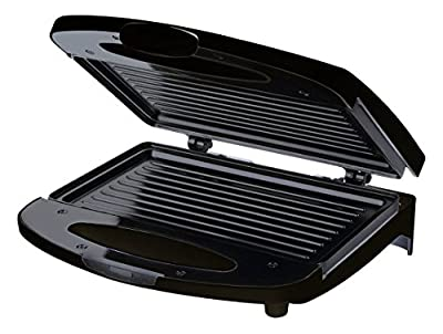 Chefman RJ01-CONTACT-B Compact Contact Grill, Black
