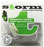 Storm Organic Chun Mee Green 15 Teabags (Pack of 3, Total 45 Teabags)