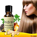 Herbal Keratin Andrea Fast Hair Growth Essence alopecia hair loss liquid Ginger shampoo sunburst yuda Hair Growth Pilatory Oil