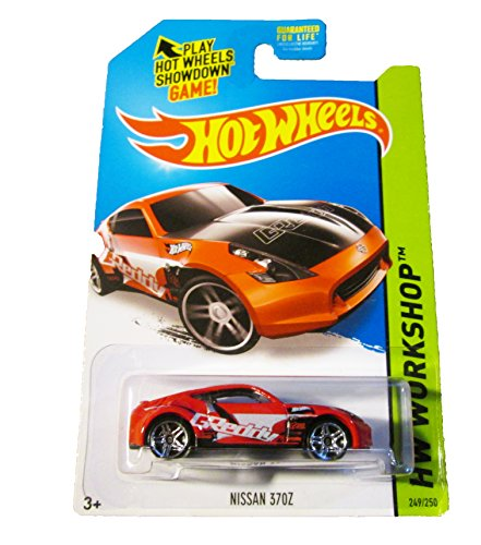 Hot Wheels Workshop 249/250 - Nissan 370Z - Red