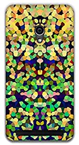 The Racoon Lean Static dots hard plastic printed back case / cover for Asus Zenfone 4 A450CG