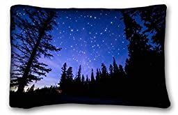 Generic Baby Girls\' Landscapes Blue Night Sky Roche Lake Provincial Park Kamloops British Columbia Canada 20x30 Inch