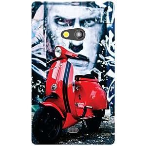 Nokia Lumia 625 Back Cover - Matte Finish Phone Cover