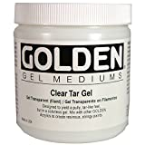 Golden 0003330-6 16oz. - 473ml - Clear Tar Gel - Medium