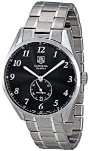 Tag Heuer Men's WAS2110.BA0732 Carrera Dial Dress Black Dial Watch