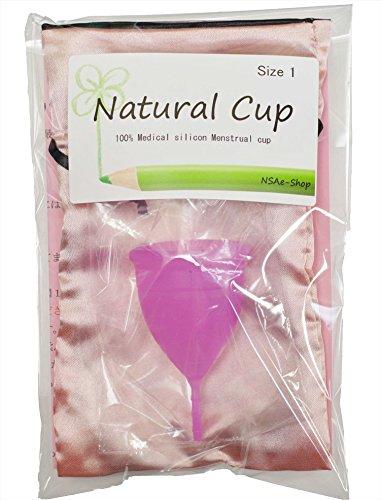 月経カップ 日本語説明書付 「ナチュラルカップ」 Size 1 スモール 「ナプキンやタンポンに代わる新時代の生理用」 経血カップ