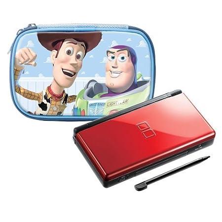 Nintendo DS Lite Crimson / Black with Toy Story Case