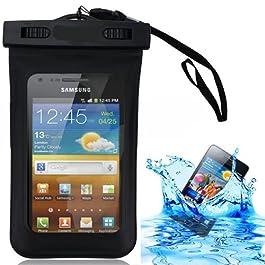 Semoss Custodia Impermeabile Waterproof per Samsung Galaxy Ace S5830 S5830i /Galaxy Ace 2 i8160 /Galaxy Ace 3,Cover Subacquea Chiusura Ermetica