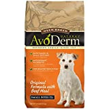 AvoDerm Natural Oven-Baked Original Formula with Beef Meal Small Bites Dog Food, 4.4-Pound