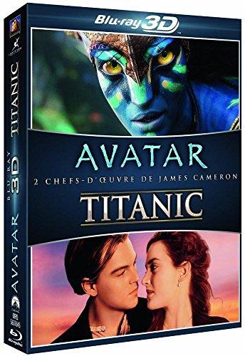 Coffret cameron : avatar ; titanic [Edizione: Francia]