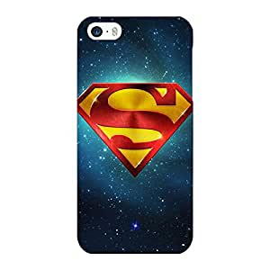 Jugaaduu Superheroes Superman Back Cover Case For Apple iPhone 5S