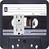 Rikki KnightTM Retro Cassette Tape GFI Toggle Light Switch Plate