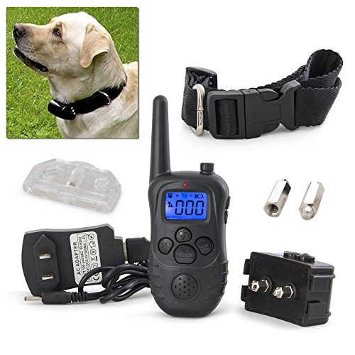 Electric Trainer Waterproof Remote Pet Safe Dog Shock Collar Training (Re 1000 Range Extender compare prices)