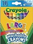 Crayola Washable Crayons 16-pk.