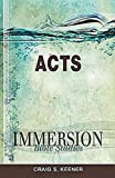 Immersion Bible Studies - Acts (1426709854) by Craig S. Keener