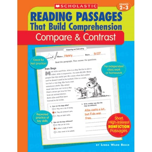 SCHOLASTIC Compare and Contrast Reading Passages